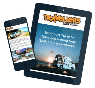 Beginners Guide to Travelling around NZ - Front cover